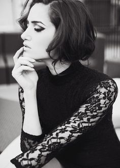 I love black lace