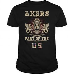 Awesome Tee AKERS  PART OF THE US T-Shirts