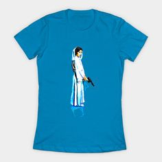 Women's Princess Leia t-shirt available at TeePublic