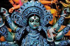 "kalikarma: "" Maa Durga (by Rajesh) "" Sacred Feminine, Divine Feminine, Sri Lanka, Goddess Of Destruction, Kali Mata, Kali Goddess, Durga Maa, Divine Mother, Hinduism"
