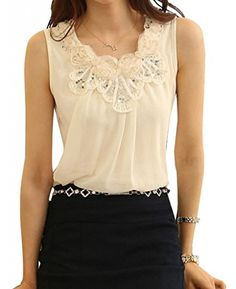 Women Embroidered Chiffon Sleeveless Shirt Blouse Vest Tank Tops ACEFAST INC http://www.amazon.com/dp/B00MNGLLSE/ref=cm_sw_r_pi_dp_eeNeub1E22RPA