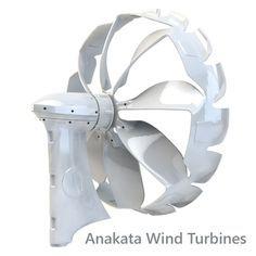 Introducing Anakata Wind Turbines - designed by F1 engineers for optimum efficiency... #wind #windenergy #renewable energy #livinggreen #wind