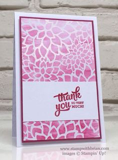 Irresistibly Floral Specialty Designer Series Paper, Mixed Borders, Stampin' Up!, Brian King, PP304