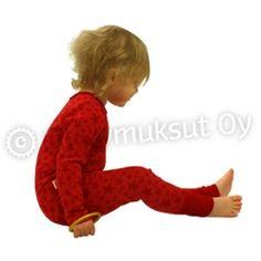 Bambukerrasto - Lastenvaatteet - Bambuvaatteet - Myllymuksut Bamboo, Fabric, Red, Clothes, Finland, Tejido, Tela, Clothing, Kleding