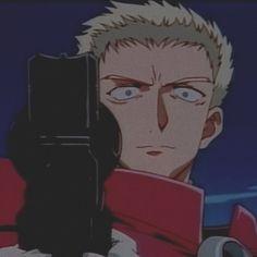 Vash, Cowboy Bebop, Knives, Icons, Manga, Fictional Characters, Symbols, Manga Anime, Manga Comics