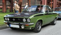 1974 Opel Manta GT/E