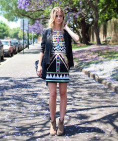 The tribal dress