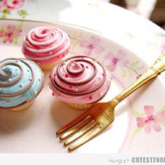 Swirl cupcakes!