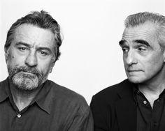 Robert De Niro und Martin Scorsese in New York, 2002 © Brigitte Lacombe