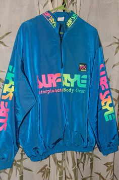 surf style jackets....... I had about 6 different colors...even had the matching shorts and pants!!!