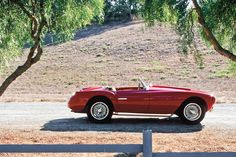 Steve McQueen's 1953 Siata Spider  1953 Siata 208 S Spider  One of Only 35 208 S Spiders Built