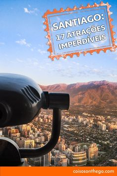 O que fazer em Santiago - Sky Costanera - Pinterest We Are The World, Countries Of The World, Patagonia, Exotic Places, The Beautiful Country, Greatest Adventure, Central America, Dream Vacations, Wonderful Places