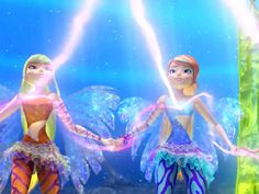 They did it!|Using their Sirenix convergence powers, the Winx steadied the Pillars of Balance.