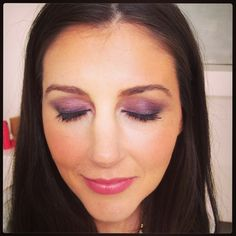 Caitlin is wearing the Lancôme ROUGE IN LOVE in Roses in Love.