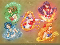 Sailor Moon: Gold 5 by daekazu.deviantart.com on @DeviantArt