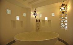 Matemwe Lodge bathroom, zanzibar