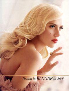 Scarlett Johansson's retro waves