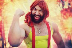 This Misty cosplayer can deadlift 484 lbs.!