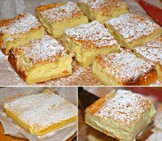 Just Desserts, Delicious Desserts, Yummy Food, Sweet Recipes, Cake Recipes, Dessert Recipes, Egg Recipes, Casserole Recipes, Magic Custard Cake