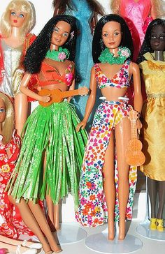 Hawaiian Barbies