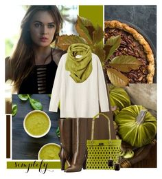 """""""Green & Brown"""" by colierollers ❤ liked on Polyvore featuring Marni, Toast, Buxton, SJP, Nordstrom Rack, women's clothing, women, female, woman and misses"""