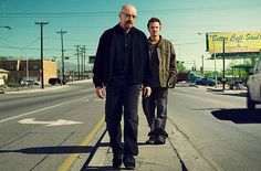 Walter and Jesse- Breaking Bad.  No other show keeps me on the edge of my seat like this one.