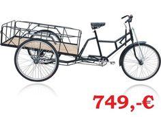 Moghul Rikschas Lastenräder Dreirad