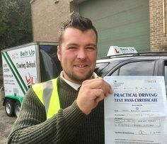 James Williams FIRST TIME car and trailer pass