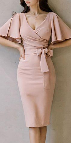 On aime - Nouva Style Elegant Dresses Classy, Classy Dress, Beautiful Dresses, Glamouröse Outfits, Classy Outfits, Buy Dress, Dress Skirt, Cute Dresses, Short Dresses