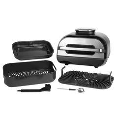 Buy Ninja Foodi MAX Health Grill Air Fryer & Dehydrator AG551UK   Health grills   Argos