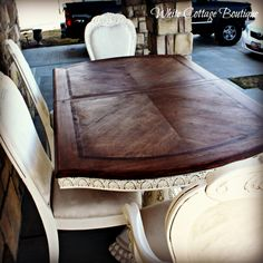 {Tutorial} How to Stain Wood Furniture from White Cottage Boutique
