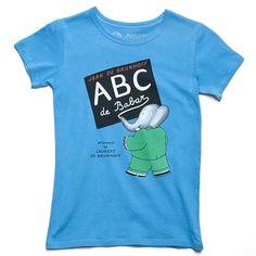 Out of Print ABC de Babar Tee
