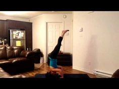 Inspired to instruct headstand. 40DaysofSocial