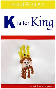If you are teaching your preschooler the letter K right now, I have some fun activities for you! This week our hand print art shows us how to make a K for king! Super adorable! When we work on lear...
