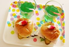 Food mini sandwich for buffet