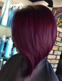 20 Plum Hair Color Ideas for Your Next Makeover