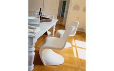 Panton Chair | SCP Airstream Decor, Panton Chair, Cantilever Chair, Scp, Egg Chair, Design Awards, Pantone, Floor Chair, Branding Design