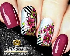 Nail Art, Nails, Beauty, Beautiful, Design, Painting, Rose Nails, Flower Nails, Solid Colors
