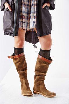 Ecote Suede Slouch Tall Boot