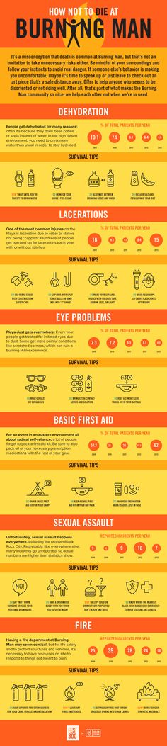 Cool Infographics About Burning Man | Earthly Mission (to Extract the Juice of the Internet)