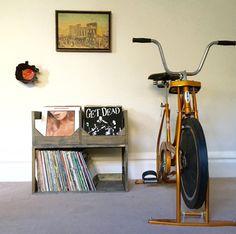 Deluxe Vinyl Record Storage-System! Verstauen Sie Aufzeichnungen im Stil / / Displays und schützt Ihre Sammlung von über 200