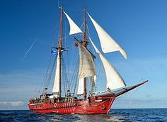 """""""ATYLA"""" during the Tall Ships Races 2014"""