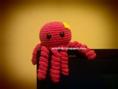 amigurumi pulpo patrón gratis octopus free pattern