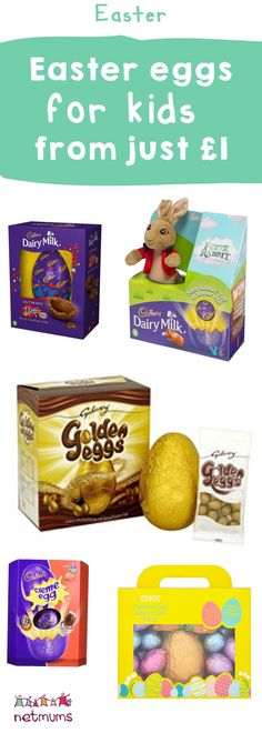 The best Easter eggs and treats for all the family - from just Easter Food, Easter Treats, Easter Recipes, Easter Eggs, Easter Presents, Easter Celebration, Egg Hunt, The Best, Birthdays
