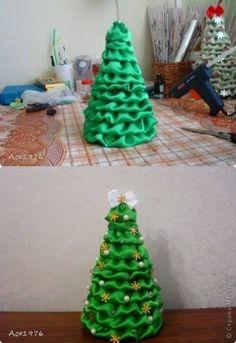 DIY Fabric Christmas Tree