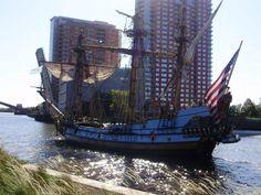 Sail on the Kalmar Nyckel - the Tall Ship of Delaware