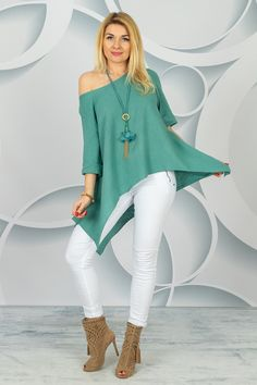 Bell Sleeves, Bell Sleeve Top, Spring Collection, White Jeans, Pants, Women, Fashion, Tunic, Trouser Pants