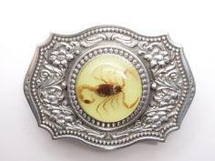 SPIDER WEB BELT BUCKLE CHARLOTTES BUCKLES TARANTULA