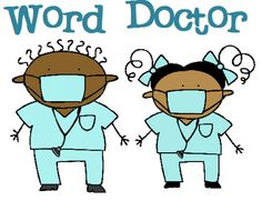 Word doctor. A really fun game for decoding words. This would be a great guided reading activity.