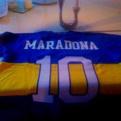 Original Maradona Boca Juniors 1981 vintage shirt